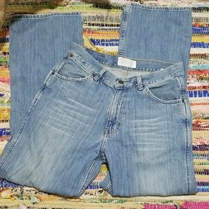 American Eagle BootCut Distressed Jeans